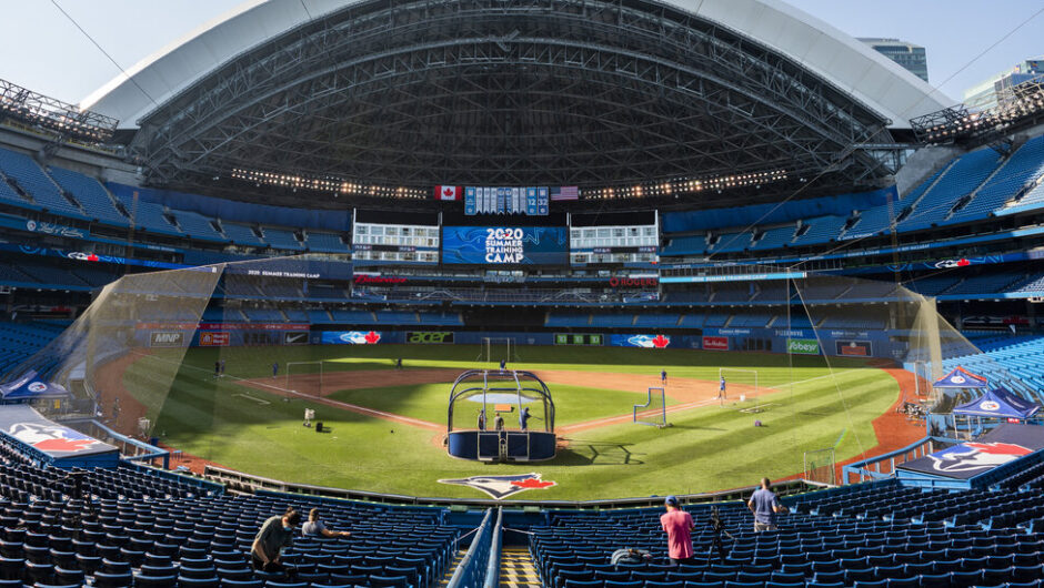 Blue Jays Can't Play Games in Canada Because of Pandemic