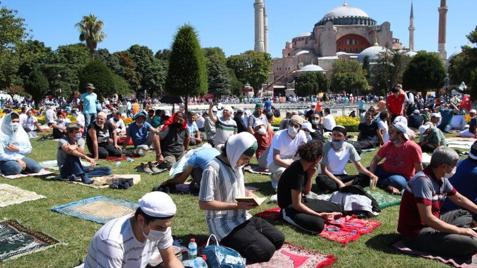 Erdogan Reopens Turkey's Hagia Sophia as a Mosque