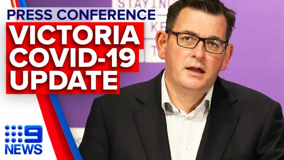 Coronavirus: Victoria Premier announces 300 new COVID-19 cases   9 News Australia