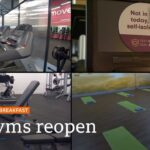 Indoor gyms and pools in England start to reopen – Covid-19: Top stories this morning – BBC