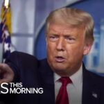 President Trump defends video making false claims about the coronavirus