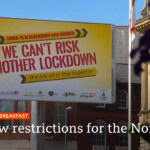 Visiting people at home banned in northern England – Covid-19: Top stories this morning – BBC