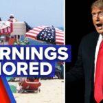 Coronavirus: US Independence Day celebrations warnings ignored | 9 News Australia