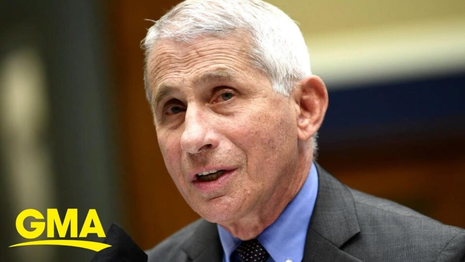 US 'knee-deep' in 1st wave of COVID-19: Fauci l GMA