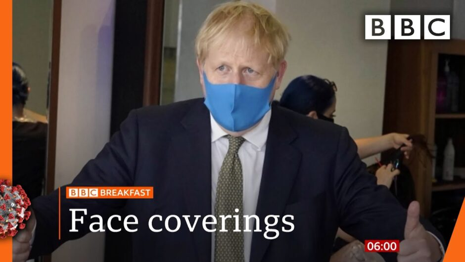 Labour calls for clarity over face coverings in England – Covid-19: Top stories this morning – BBC