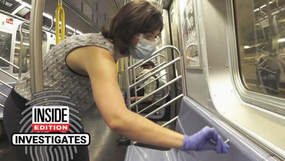 How Clean Are New York City Subways Amid COVID-19?