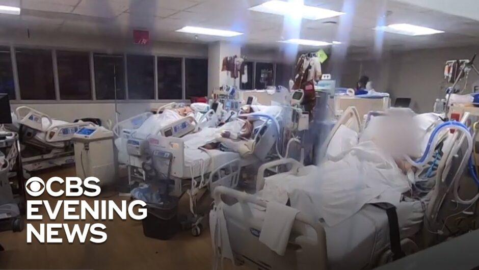 Texas coronavirus deaths rising as hospitals reach ICU capacity