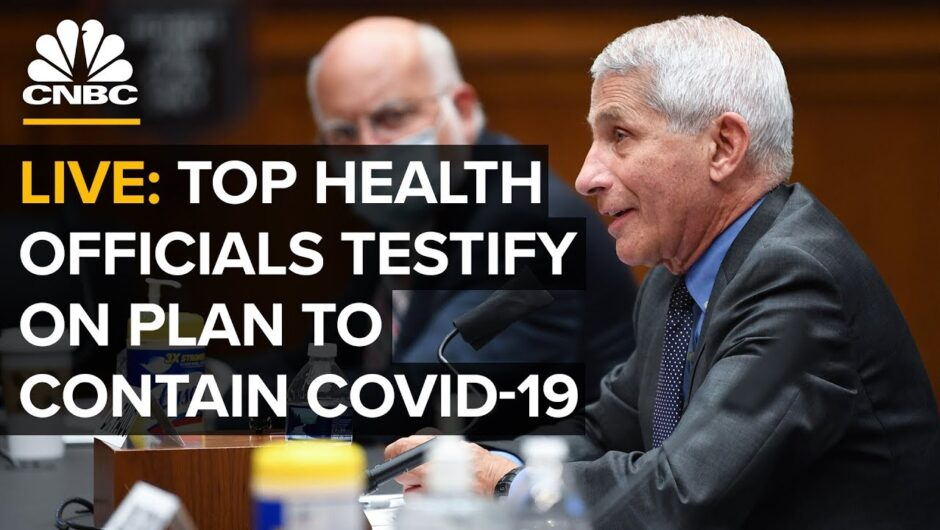 WATCH LIVE: Top health officials testify on plan to contain Covid-19 pandemic — 7/31/2020
