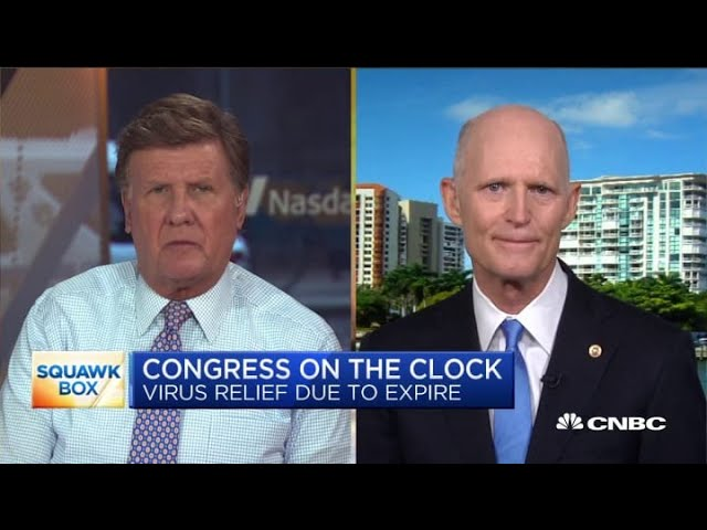 Sen. Rick Scott on Florida's Covid-19 outbreak and how the state handled its response