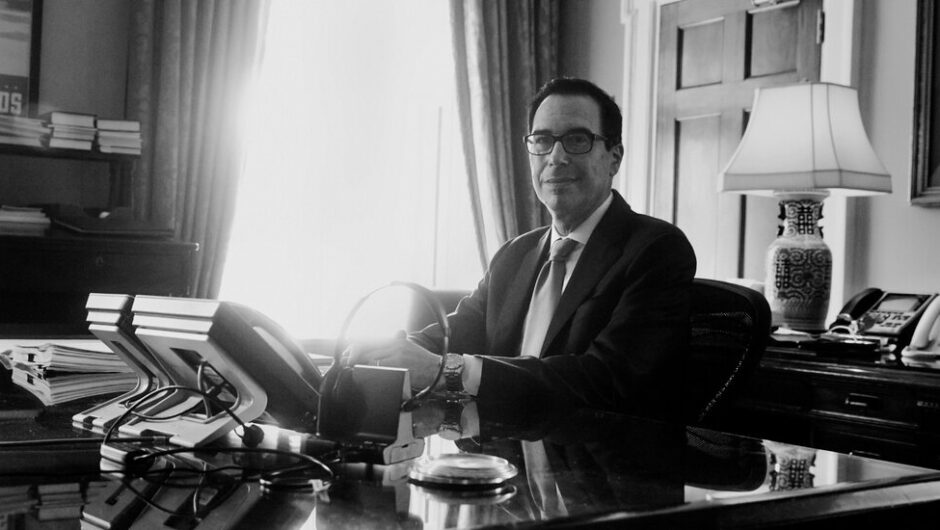 Steven Mnuchin Tried to Save the Economy. Not Even His Family Is Happy.