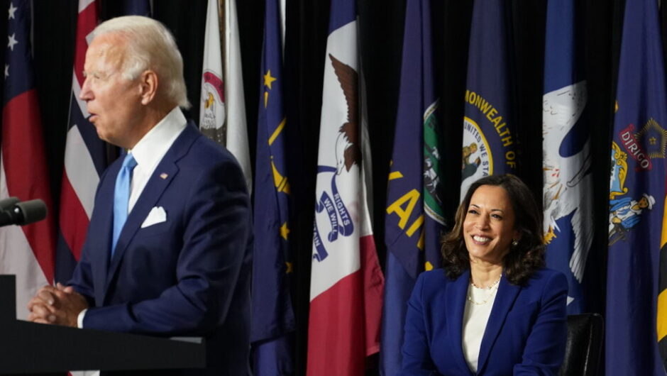 Biden and Harris Make First Appearance as Running Mates