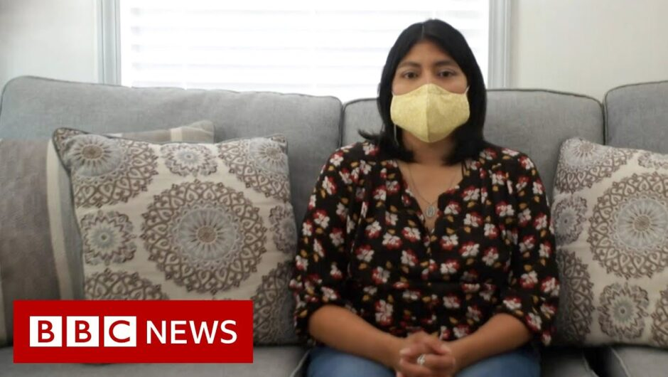 Coronavirus: 'We're still waiting at home for them to come back' – BBC News
