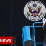 China orders closure of US consulate in Chengdu – BBC News