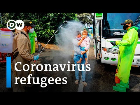 Coronavirus leaves Venezuelan migrants in limbo | DW News