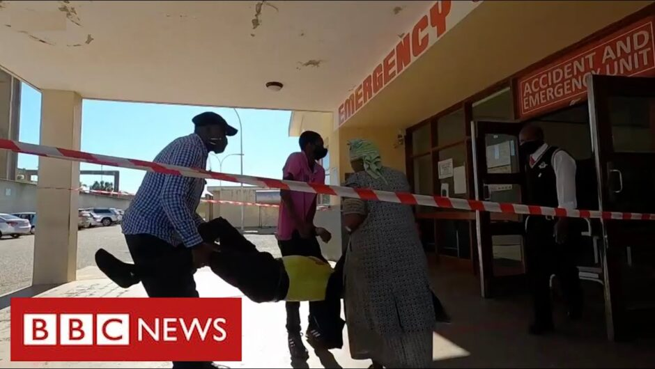 South Africa endures coronavirus crisis as health services collapse  – BBC News