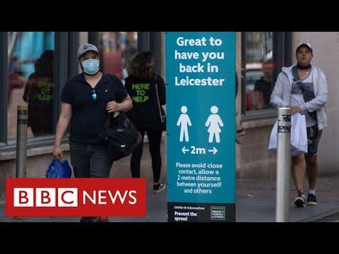 Lockdown tightened in Leicester as coronavirus cases surge – BBC News