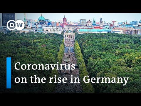 Berlin police break up protest against coronavirus restrictions | DW News