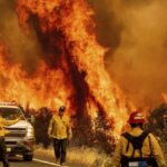 California wildfires and COVID-19 form twin crises
