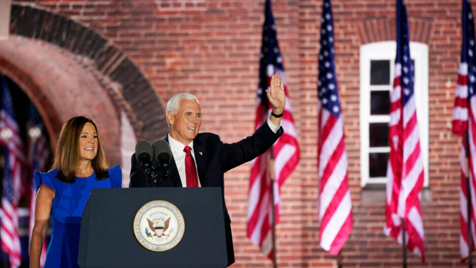 Mike Pence Closes Out Night 3 of the G.O.P. Convention, Making the Case for Trump