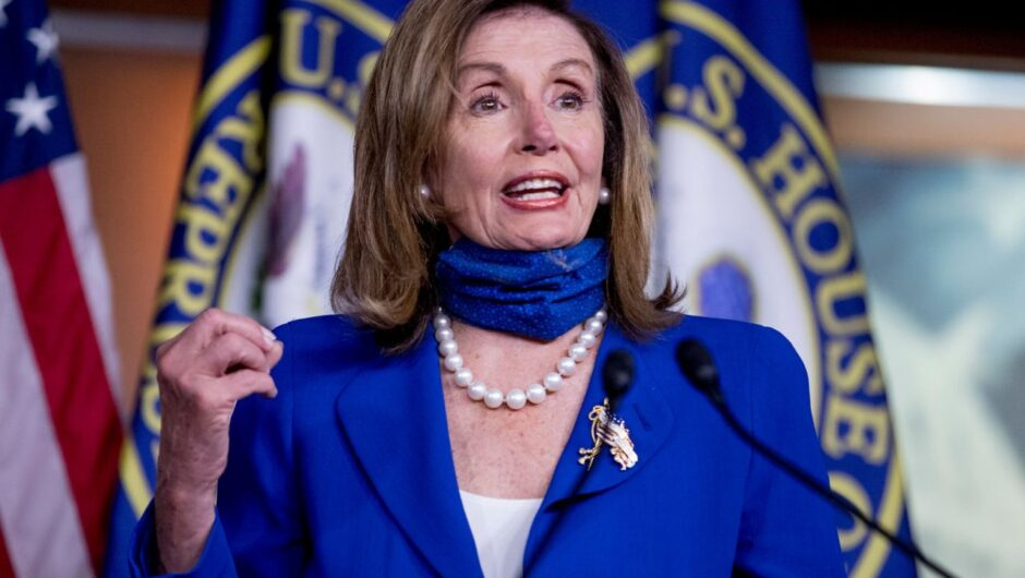 Pelosi slams White House over deadlock in COVID-19 relief negotiations and $600 unemployment benefits
