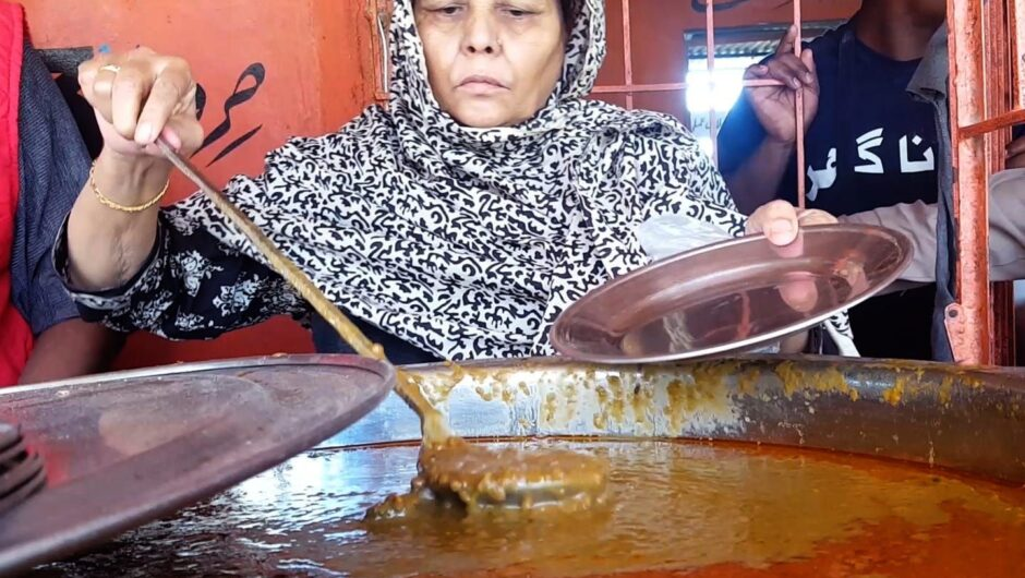 A soup kitchen in Pakistan has been serving hot meals for 20 years, but is being pushed to the limit in the pandemic