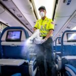 American Airlines' new plane disinfectant works for a full week, but doesn't stop the main way COVID-19 spreads