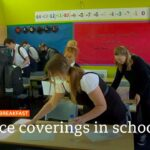 Face coverings U-turn for England's secondary schools – Covid-19: Top stories this morning – BBC