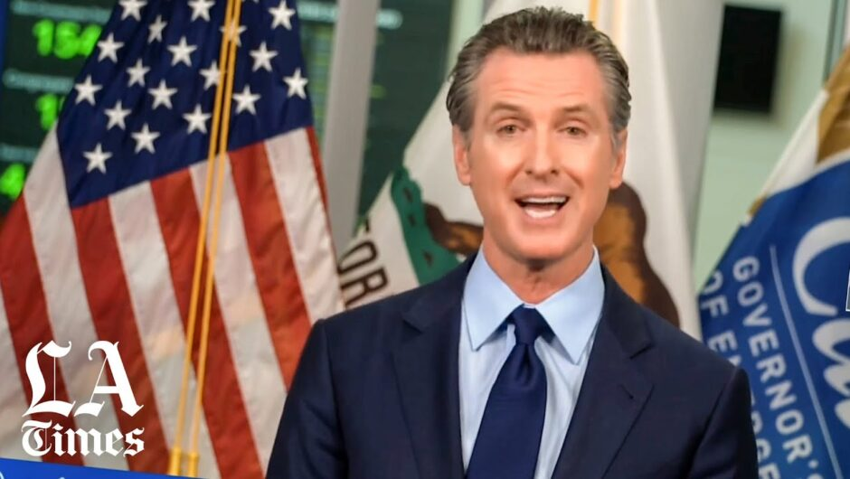"""""""COVID-19 will be with us for a long time,"""" says Gov. Newsom"""