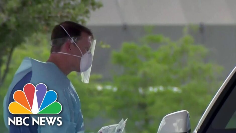 California Surpasses 600,000 Coronavirus Cases | NBC Nightly News