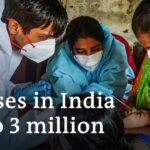 Coronavirus India: Workers flee cities as case numbers soar | DW News