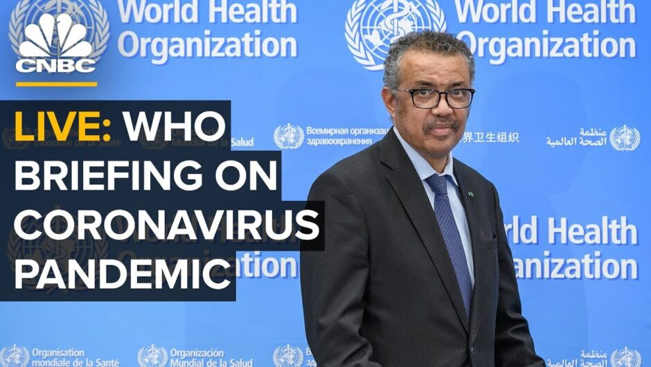 WATCH LIVE: World Health Organization holds a briefing on the coronavirus outbreak – 8/13/2020