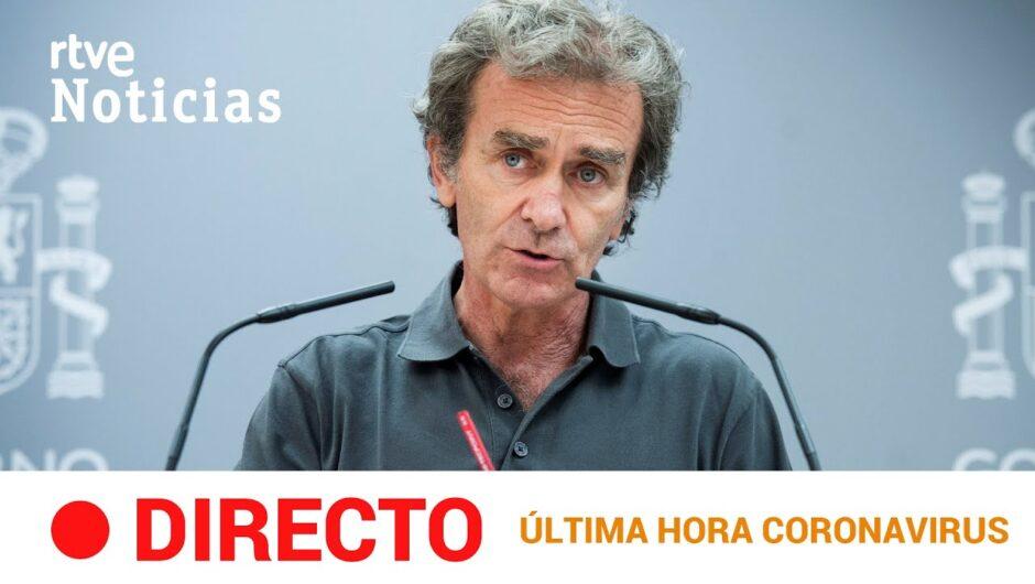 EN DIRECTO 🔴 #CORONAVIRUS  Rueda de Prensa de Fernando Simón   20 de AGOSTO RTVE