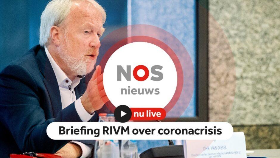 LIVE: Briefing RIVM over het coronavirus aan kamerleden