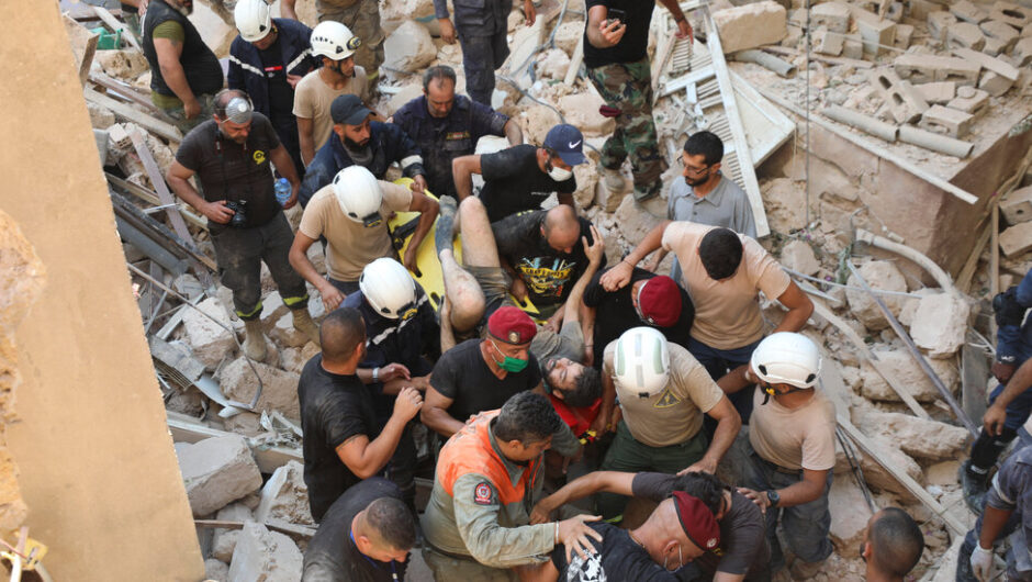 Live Updates: Beirut Explosion – The New York Times