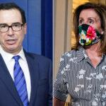 Nancy Pelosi and Steve Mnuchin clash after COVID-19 stimulus call