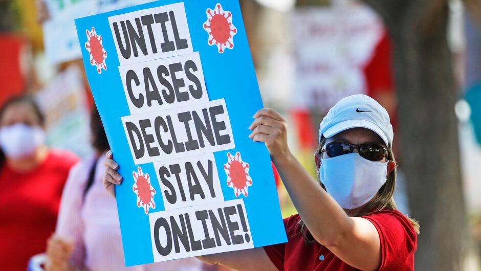 Utah teachers resign in droves over COVID-19 fears