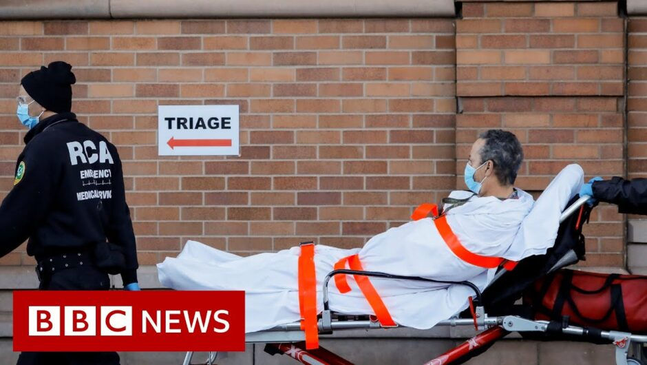 Coronavirus: New York state's death toll passed 10,000  – BBC News