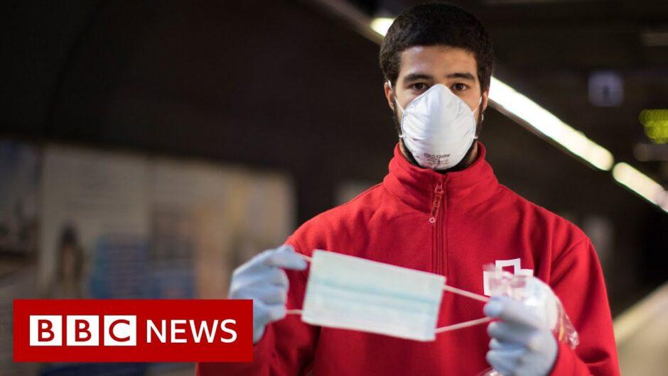 Coronavirus: Can wearing masks stop the spread of viruses? – BBC News