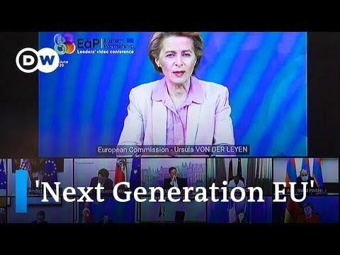 EU leaders launch tough talks on post-coronavirus economy   DW News