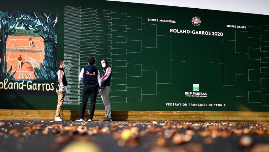 New for This Pandemic French Open: Fall Weather and Lights