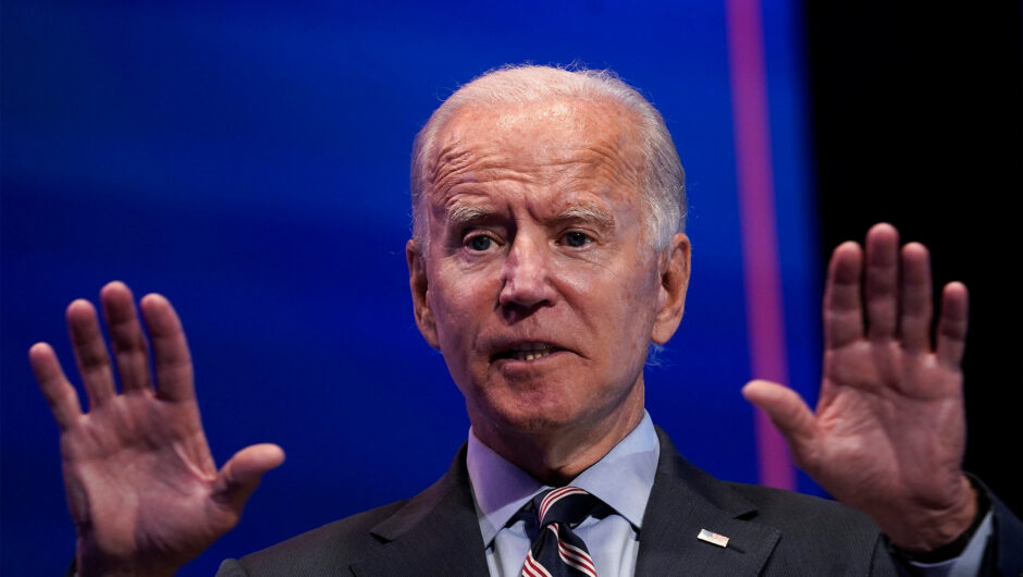 Joe Biden urges COVID-19 vaccine plan, admits he didn't read Trump's