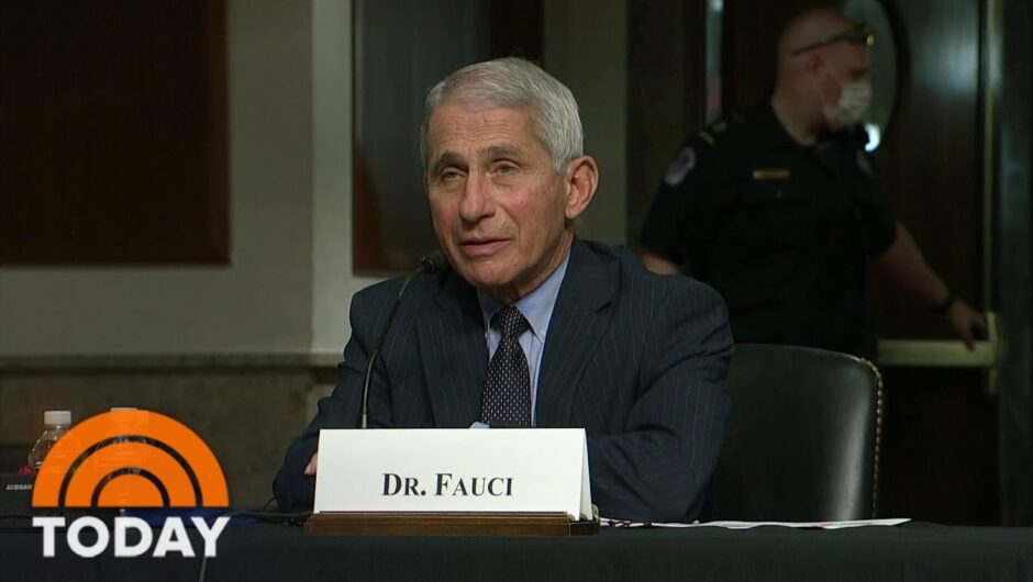 Dr. Fauci And Rand Paul Clash Over Coronavirus On Capitol Hill | TODAY