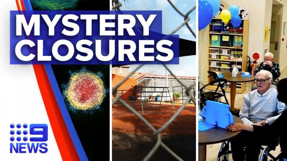 Coronavirus: NSW mystery cases prompt schools and nursing home closures | 9News Australia