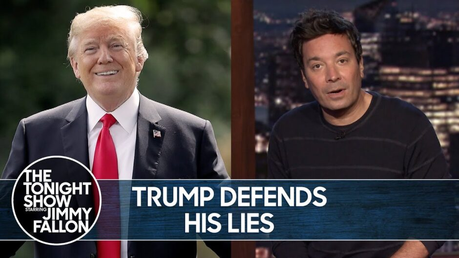 Trump Defends Lying to Americans About the Coronavirus   The Tonight Show