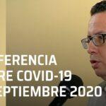 Conferencia Covid-19 en México – 17 septiembre 2020
