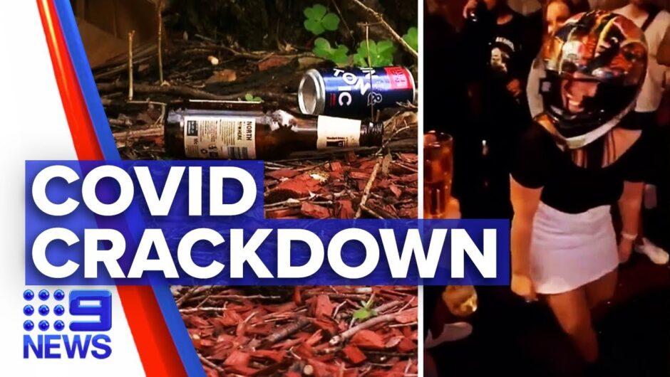 Coronavirus: Sydney partygoers fined $28k | 9News Australia