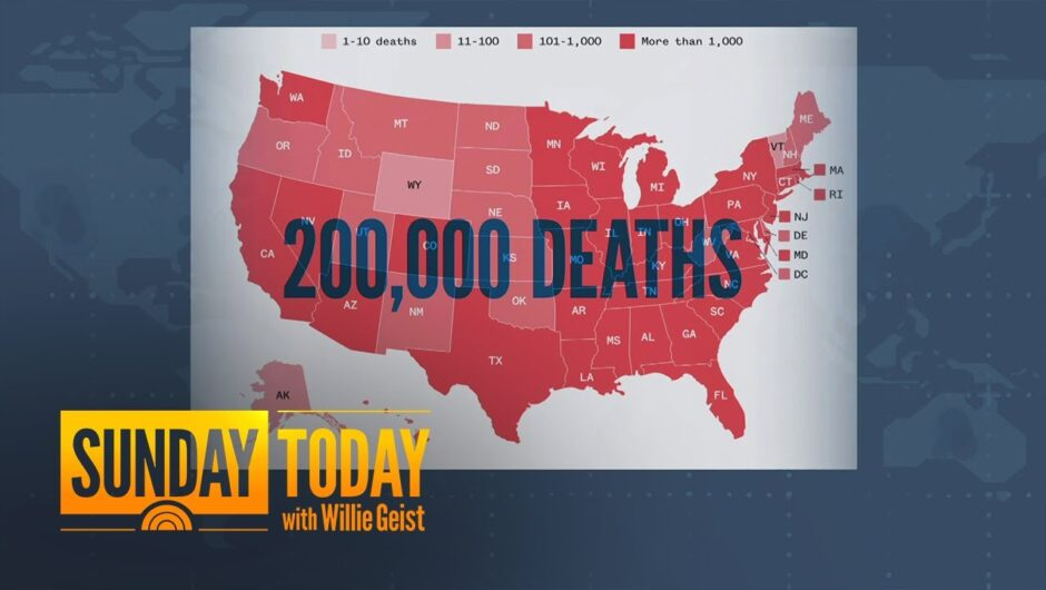 US Coronavirus Death Toll Passes 200,000: How Did We Get Here? | Sunday TODAY