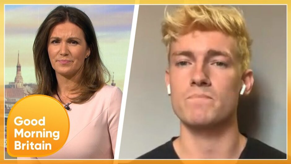 British Lads Stuck in 'Eternal Hell' After Catching Covid-19 In Italy   Good Morning Britain