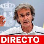 DIRECTO #CORONAVIRUS   FERNANDO SIMÓN ofrece la última hora de la evolución de la COVID-19 en ESPAÑA