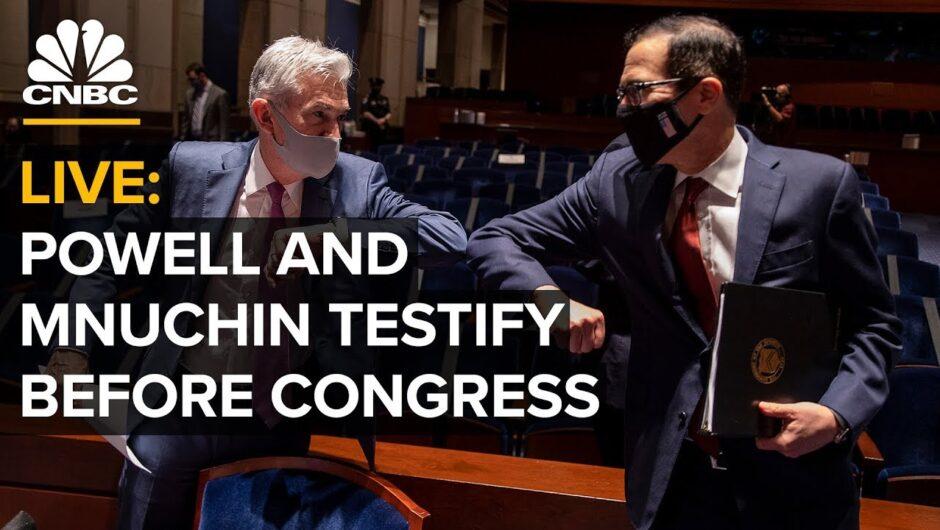 WATCH LIVE: Treasury Sec. Mnuchin and Fed's Powell testify on pandemic response — 9/22/2020